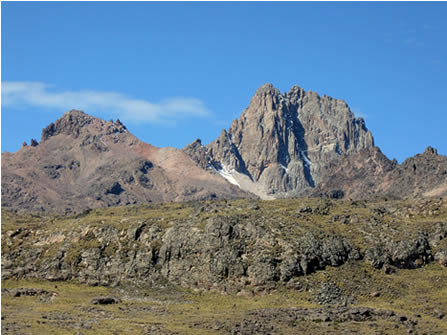 5 Days Mount Kenya Climb with Peak Circuit on Sirimon Route