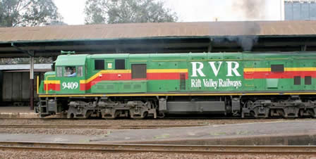 Rift Valley Railways Rail Travel